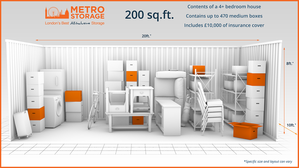 Metro Self Storage Unit